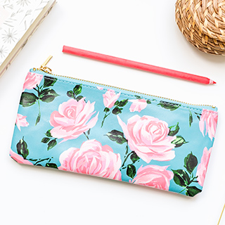 ban.do pencil case - Rose parade