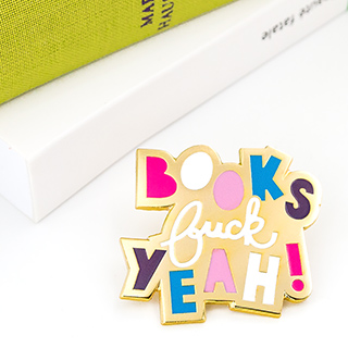 Pin's - Books, f**k yeah