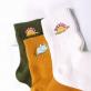 Socks - Embroidered dinosaur