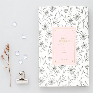 Undated weekly planner - Proust (wildflower)