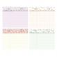 Undated weekly planner - Proust (wildflower)