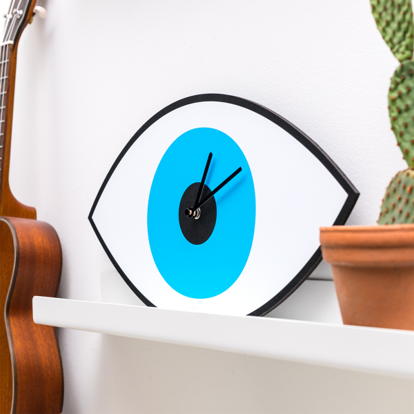 Mystic Time wall clock - Eye