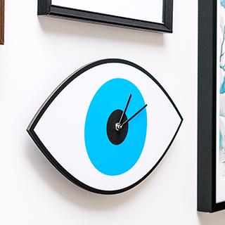 Mystic Time wall clock - Eye
