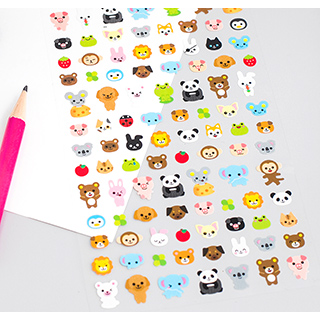 Kawaii stickers - Cute animals