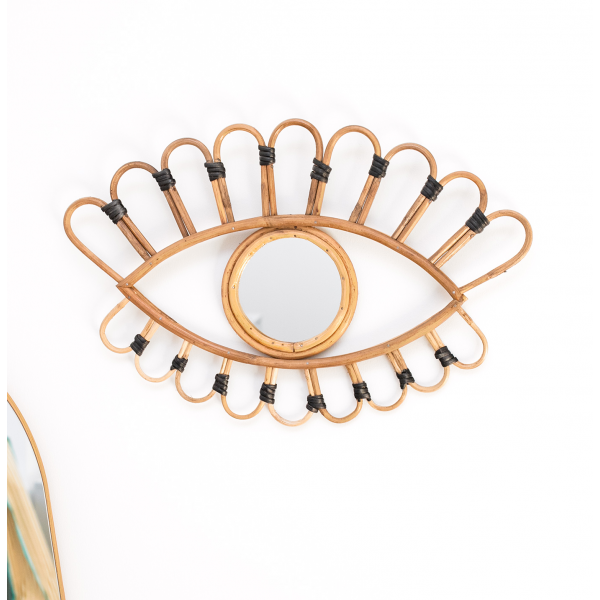 Bamboo eye mirror