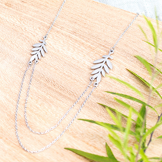Necklace - Two branches