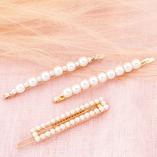 Hair pins - Pearls