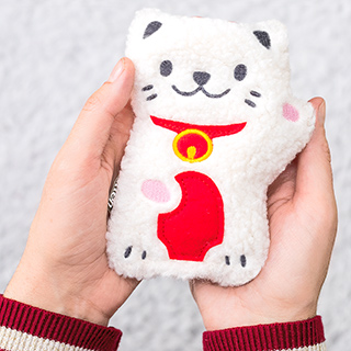 Hand warmer - Pocket pal lucky cat