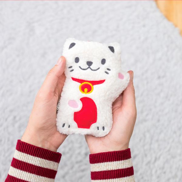 Hand warmer - Pocket pal lucky cat