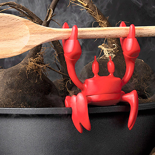 Spoon holder - Red, the crab