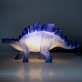 Dinosaur lamp - Stegosaurus