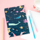 A5 notebook - Under the sea