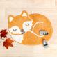 Rug - Woodland fox