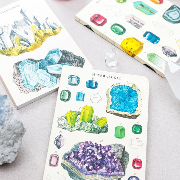 Mini notebooks - Mineralogy