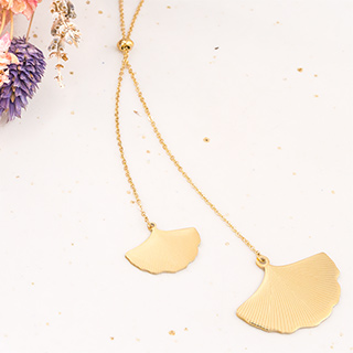 Long necklace - Ginkgo