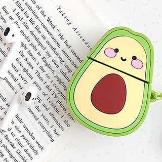 AirPods 2 silicone case - Kawaii avocado