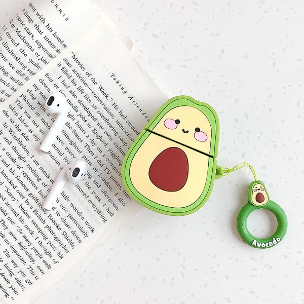 AirPods 2 silicone case - Kawaii avocado