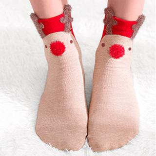 Christmas socks - Rudolph