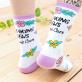 Punky Pins socks - I don't care