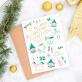 Christmas card - Christmas wishes