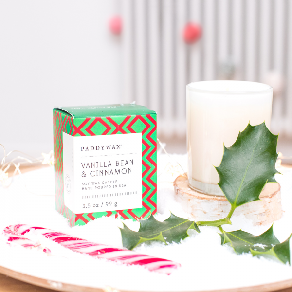 Christmas scented candle - Vanilla bean & cinnamon