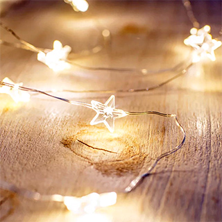 String lights - Little stars