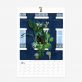 Calendrier 2020 - Urban jungle