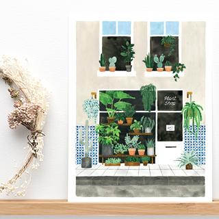 Art print - Plant nursery