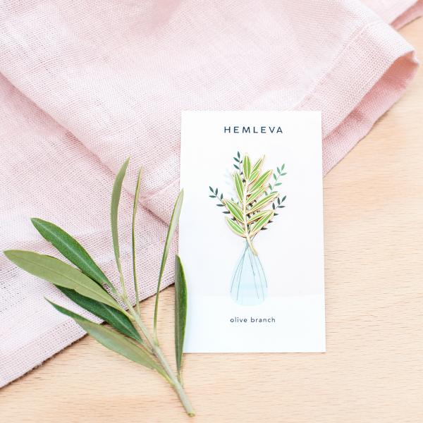 Pin's Hemleva - Olive branch