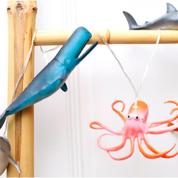 String lights - Sea creatures
