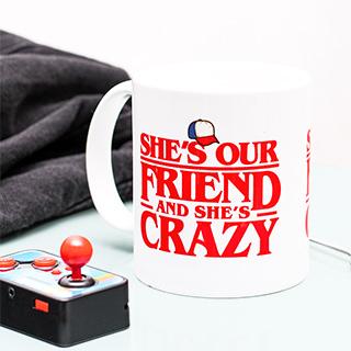 Stranger Things mug - She is our friend