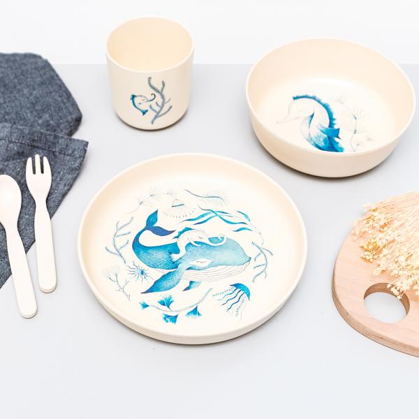 Coffret repas pour enfants - Under the sea