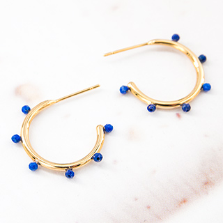 Hoops earrings - Circé