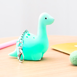 Light up keyring - Dinosaur