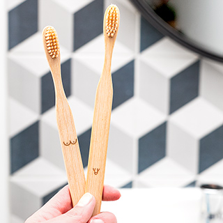Bamboo toothbrushes - Nudie