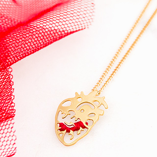 Necklace - Coeur battant