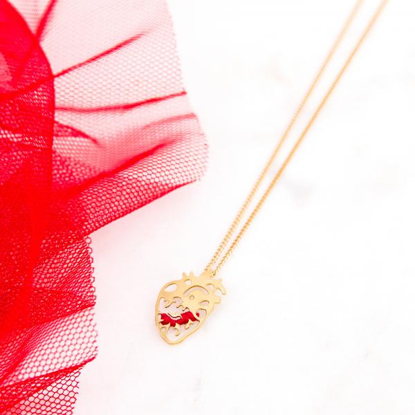 Necklace - Coeur battant