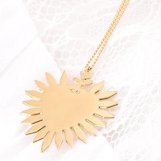 Necklace - Coeur flamboyant
