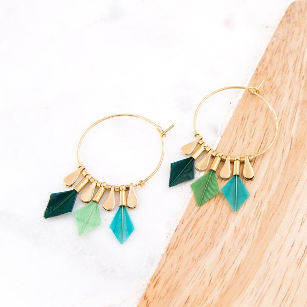 Hoop earrings - Debra