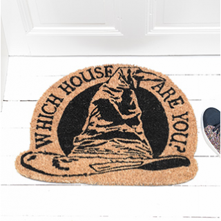 Doormat Harry Potter - Which house are you