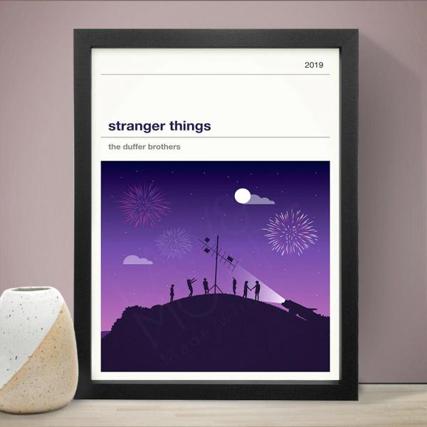 Affiche série - Stranger Things (saison 3)
