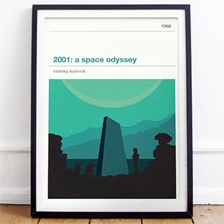 Movie print - 2001: A Space Odyssey