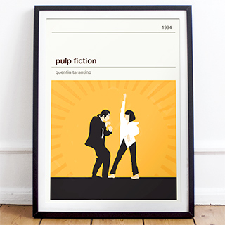Movie print - Pulp fiction