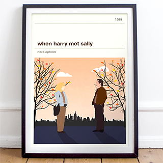 Movie print - When Harry met Sally
