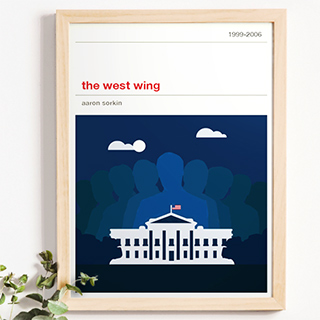 Affiche série - The West Wing