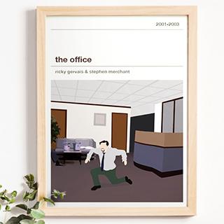 Affiche série - The office