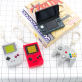Keychains - Nintendo game consoles