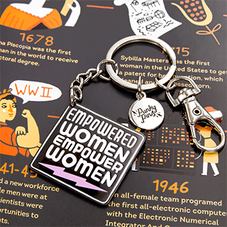Keychain - Empowered women empower women