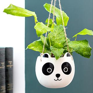 Hanging planter - Panda