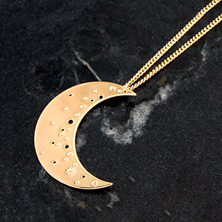 Long necklace - La nuit